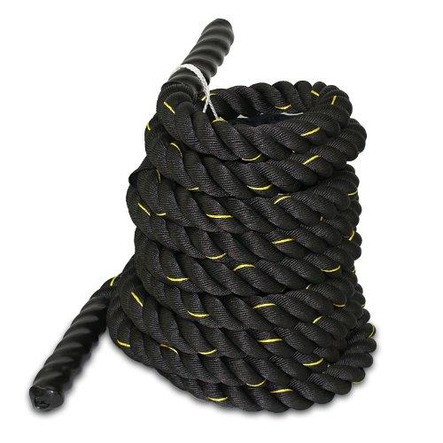 ZENY 1.5' Poly Dacron 50ft Battle Rope Workout Training Undulation Rope