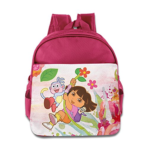 [Dora The Explorer Custom Boy Girl Kid School Backpacks Comfortable] (Boots And Swiper Costumes)