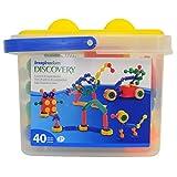 Imaginarium Connect and Create Bucket - 40-Piece