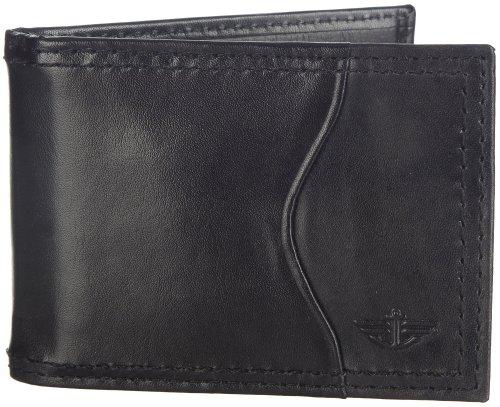 dockers-mens-slim-front-pocket-wallet-black-one-size