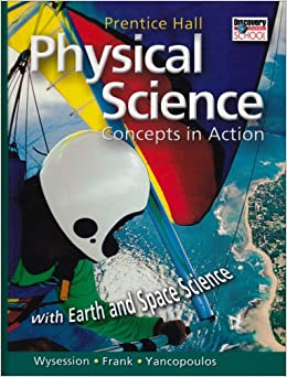 Worksheets Prentice Hall Physical Science Worksheets amazon com physical science concepts in action with earth and space science