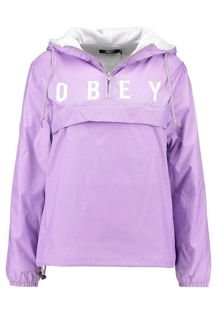Obey - Chaqueta Deportiva - para Mujer Lavanda S: Amazon.es ...