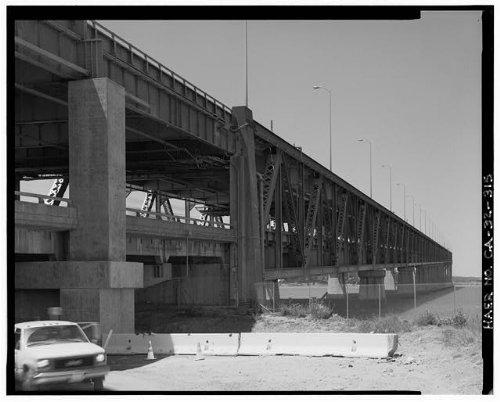 Photo: San Francisco Oakland Bay Bridge,California,CA,HABS,San - San Shopping Map Fran