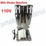 Milk Tea Shaker Mixer Machine Double Stainless Steel frame +2 Cups 700ml/pc review