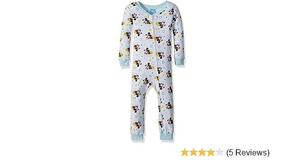 8acc9263b Amazon.com  Disney Baby Boy s Mickey Mouse Cotton Non-Footed Pajama ...