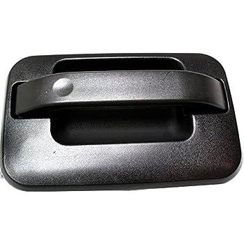 Door Handle For 2004-14 Ford F-150 SuperCrew Rear Left Prmd w//Chr Lvr//Plast Conn