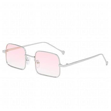 Fusanadarn Moda Gafas de Sol cuadradas de Moda para Hombres ...