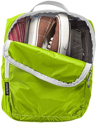 51hmI0nOszL - Eagle Creek Pack-It Specter Multi-Shoe Cube, Strobe/Green