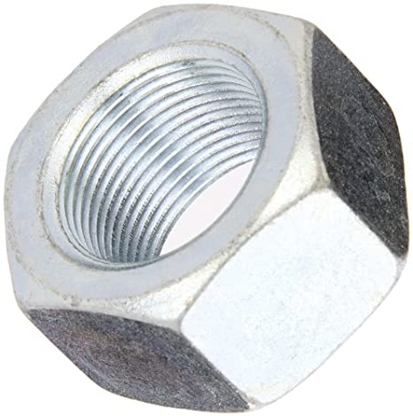 55//64 Thick 1-1//2 Width Across Flats ASME B18.2.2 and ASTM F594 316 Stainless Steel Hex Nut 1-8 Thread Size Plain Finish