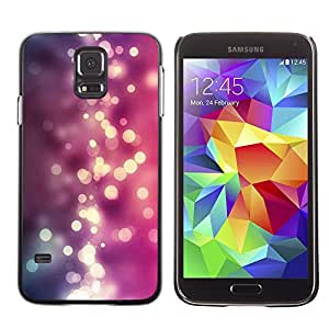 Be Good Phone Accessory // Dura Cáscara cubierta Protectora Caso Carcasa Funda de Protección para Samsung Galaxy S5 SM-G900 // Purple Pink Shiny Water