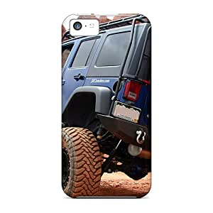 LisaSwinburnson Iphone 5c Shockproof Hard Phone Case Custom High-definition Jeep Wrangler Image [lEl4101pODg]