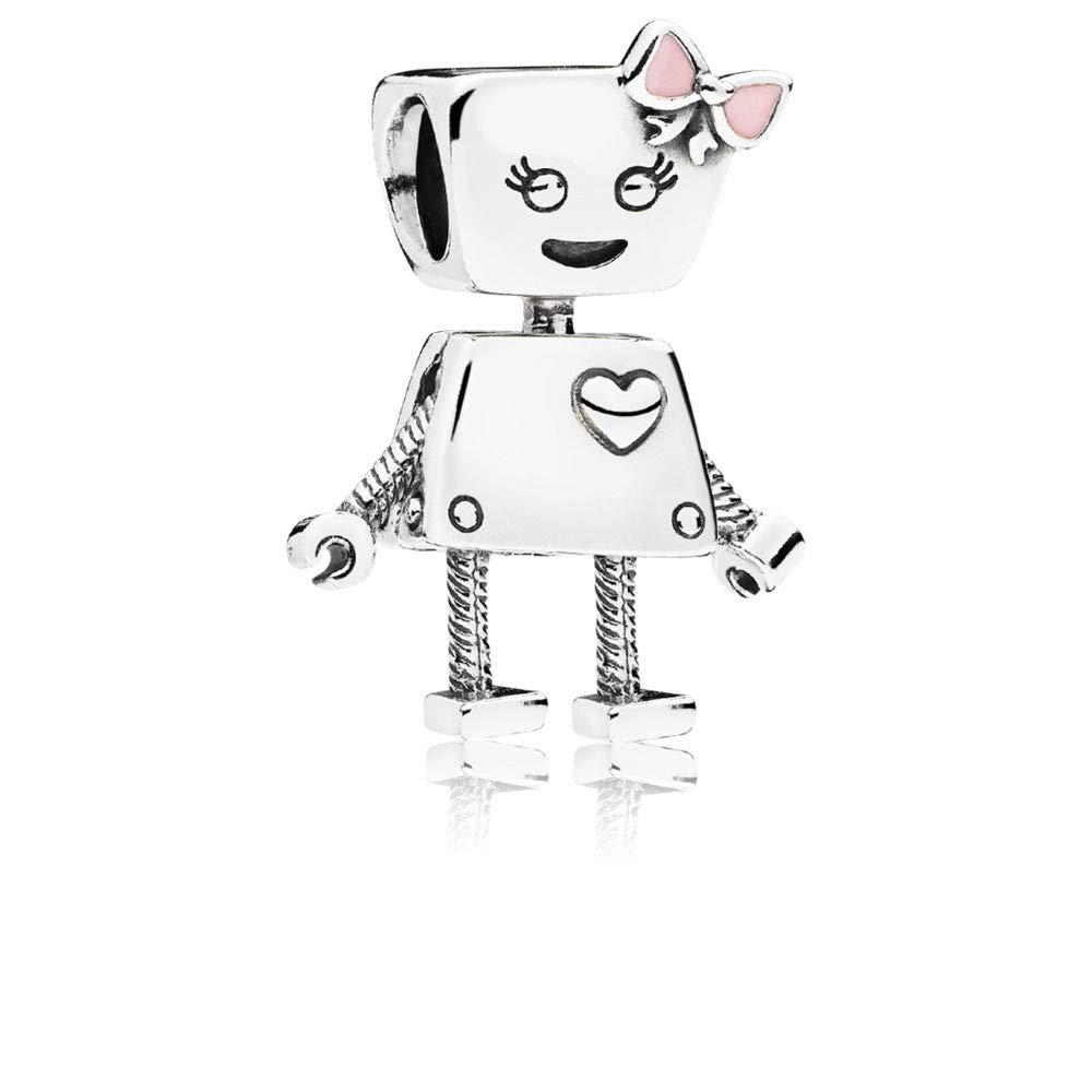 PANDORA Bella Bot, Pink Enamel