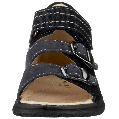 Richter Kinderschuhe - Zapatos de cuero nobuck para niño Azul