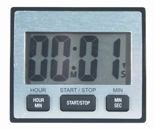 General Tools TI110 LCD Timer, Waterproof with Jumbo Display