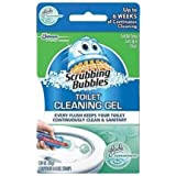 Scrubbing Bubbles Toilet Cleaning Gel Fresh - MegaQuantity Pack of (4 Dispensers & 48 Gel Tubes)