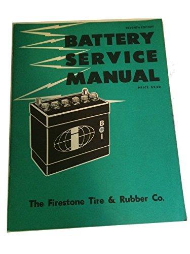 vintage battery service manual, Firestone Seveth Edition (Firestone Vintage Tire)