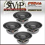 4X PRV Audio 10MR1000X 10'' Sub Woofer Pro Audio Bass Speaker 4000W 8 Ohm