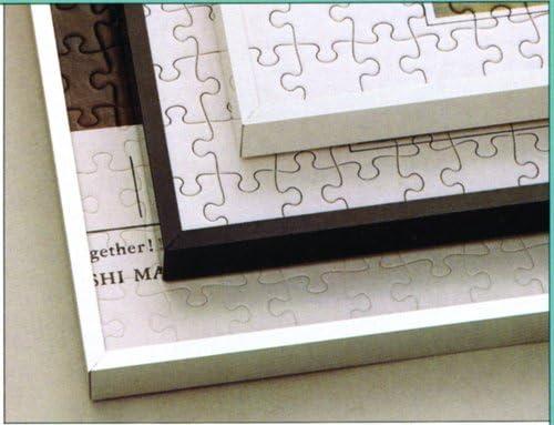 アルミ製パズルフレーム 20-T 73×102cm ストレッチライン ブラック
