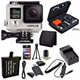 Best GoPro Cameras - GoPro HERO4 Silver Camera Saver Bundle (10 Items) Review