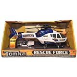 Tonka Rescue Force Police Helicopter - Lights and Sound, Blue and White by Rescue Force
