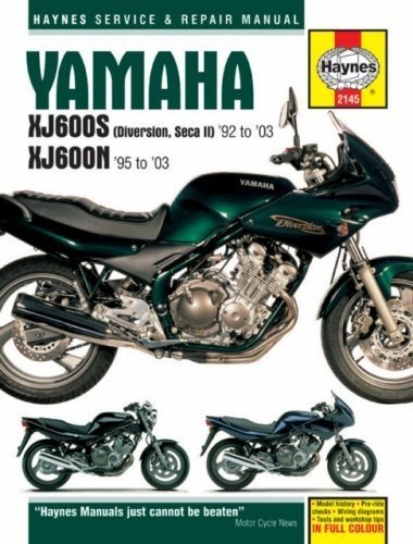 Yamaha XJ600S and XJ600N Service and Repair Manual: 1992 to 2003 (Haynes Service and Repair Manuals) by Ahlstrand, Alan, Haynes, J. H. (2004) Hardcover