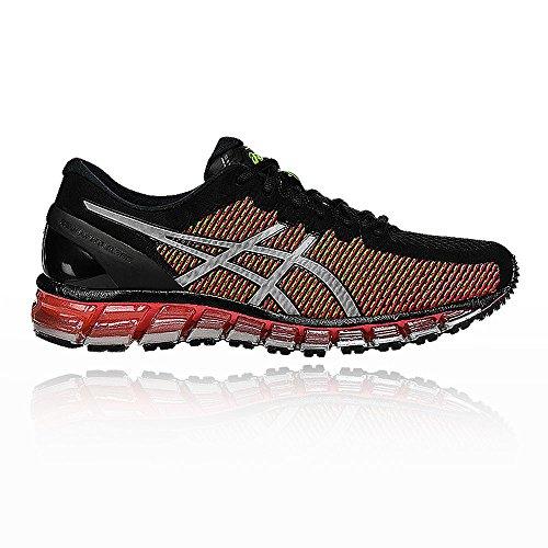 Asics Gel-Quantum 360 cm Women's Running Shoes (T6G6N) Black / White / Green
