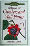 Manual of Climbers and Wall Plants, J K Burras, 0333615379
