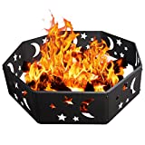 VIVOHOME Steel Sky Wood BurningCampfire Ring For Sale