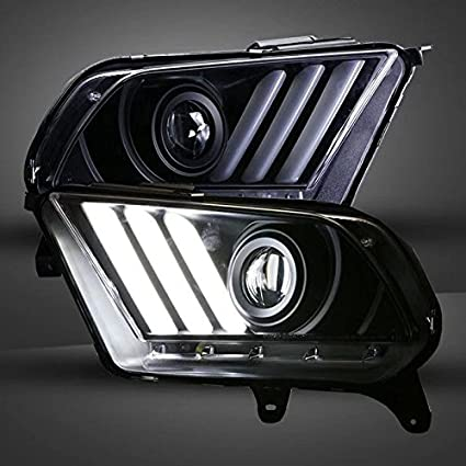 Amazon Com Generic For Ford Mustang Led Front Lamp Headlights 2015