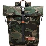 Fossil Nasher Rolltop Laptop Backpack (Multi)