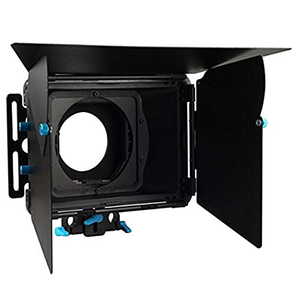Foto4easy DP3000 M2 Professional Matte Box Sunshade Swing Away for 15mm Rods Rail Rig DSLR 5D II III 7D 6D D90 GH2