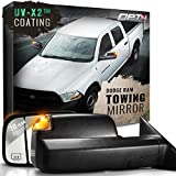 oem tow mirrors - OPT7 Deluxe Pair Truck Towing Trailer Mirrors for 2009-2012 Dodge Ram 1500/2500/3500 - Powered Heated Turn Signals Adjustable Foldable Puddle Light DOT Approved - 10-Year Warranty
