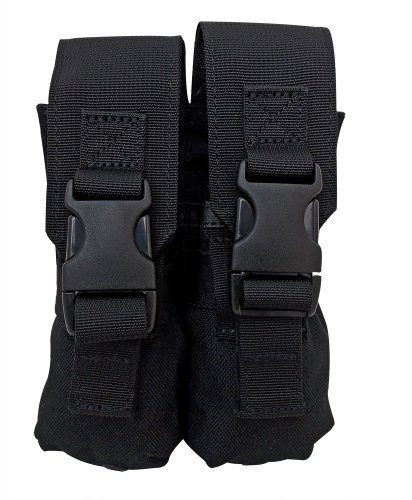 Tacprogear Double Flashbang Pouch, Black