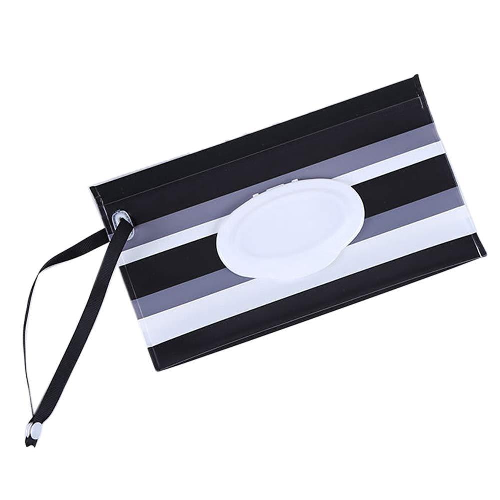 Bolsas de toallitas ecol/ógicas 4 Sweet48 Tama/ño Libre port/átil Bolsa para toallitas h/úmedas dispensador de toallitas h/úmedas y Reutilizable