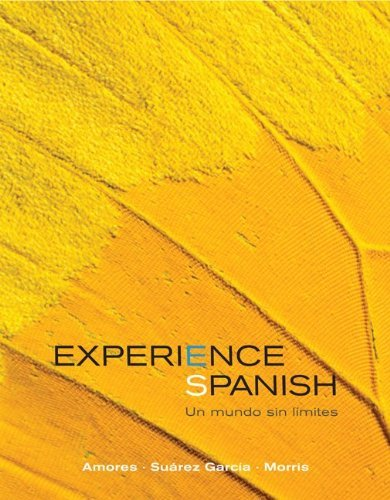 Experience Spanish-with Access (Custom) • 2012 (Troy University: SP1110 - ISBN-10:0-07-782196-3, ISBN-10: 0-07-781939-