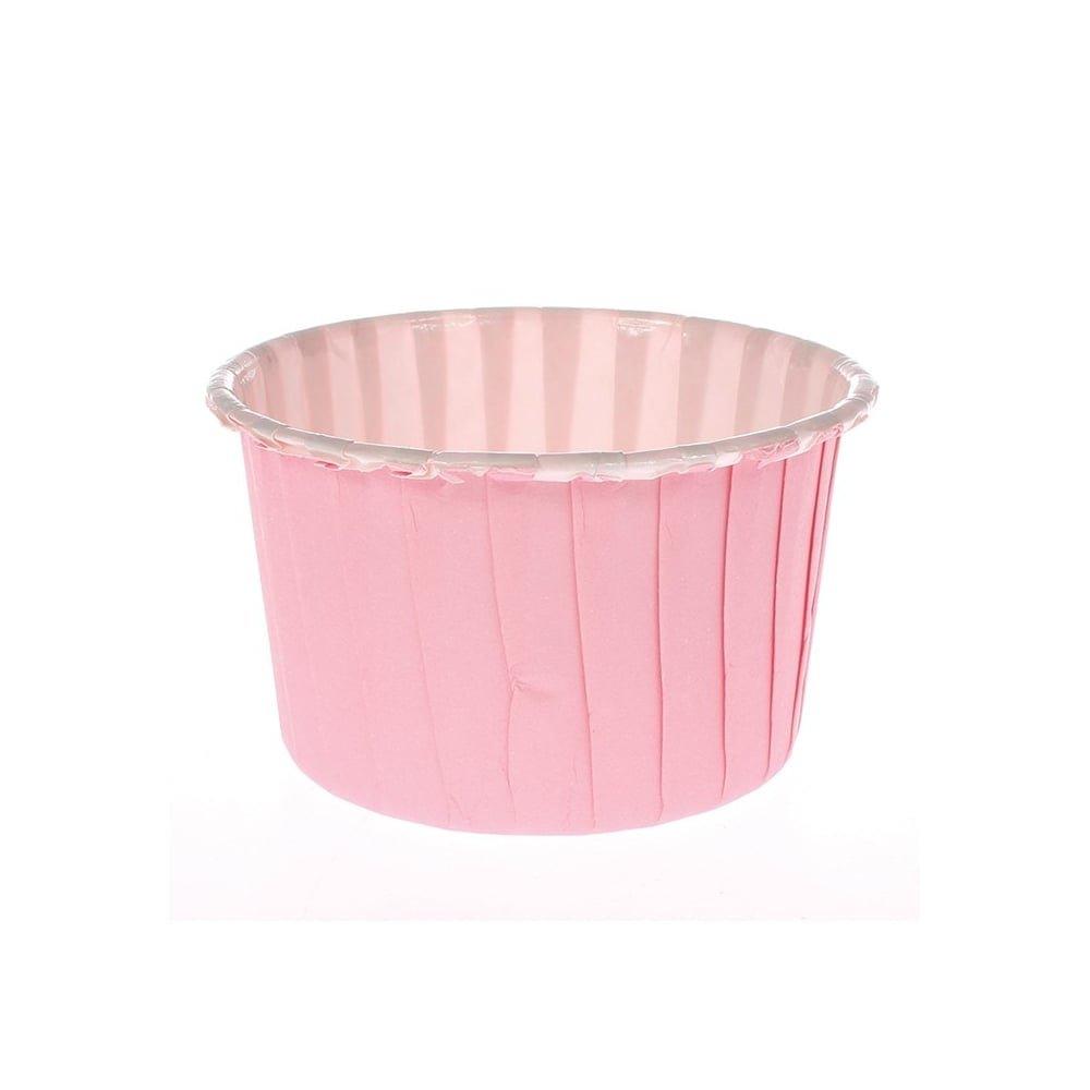 24 Coloured Pink Baking Cups Culpitt