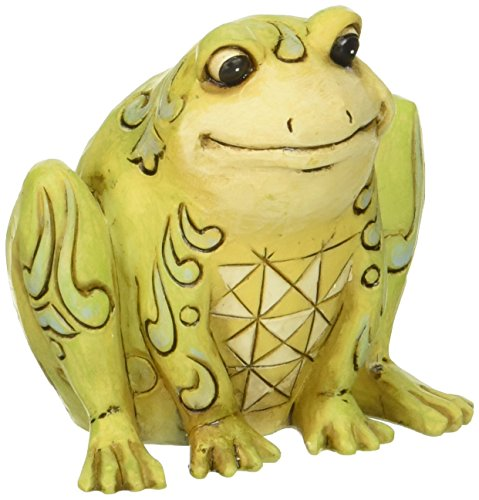 Jim Shore Frog - Jim Shore Heartwood Creek Mini Frog Figurine, 2-1/2-Inch