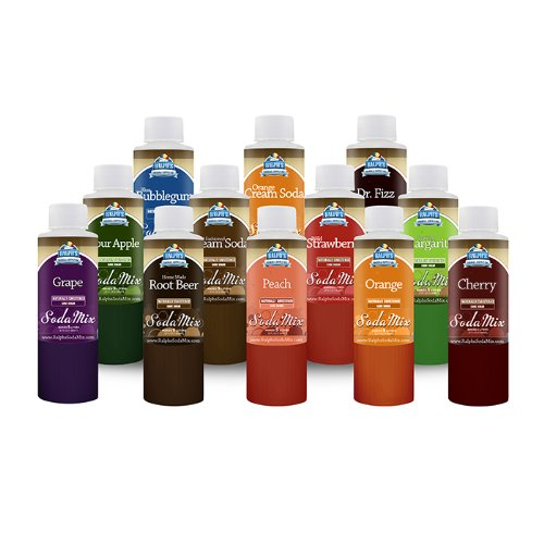 Ralph's Sodamix 12 Sample Variety Pack (Soda Stream Syrup Grape compare prices)