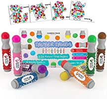 8-pack Washable Dot Markers / Bingo Daubers Dabbers Dauber Dawgs Kids / Toddlers / Preschool / Children Art Supply 3 Pdf...