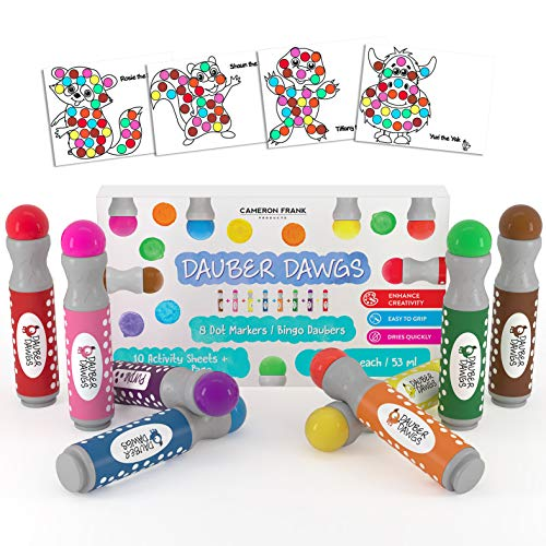 8-pack Washable Dot Markers
