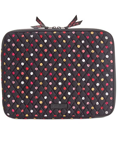 Vera Bradley Women's Laptop Sleeve Havana Dots Laptop Bag Laptop Sleeve Dot