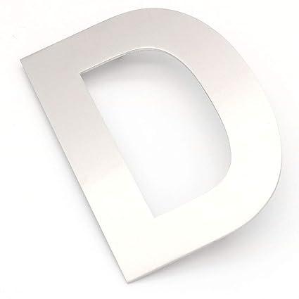 NUZAMAS - Placa de acero inoxidable para la puerta de la ...