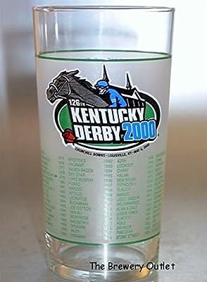 Kentucky Derby Official 126th Julep Derby Glass 2000 -- Churchill Downs