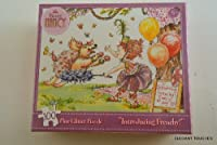 "Fancy Nancy ""Introducing Frenchy!"" 100-piece Glitter Jigsaw Puzzle"