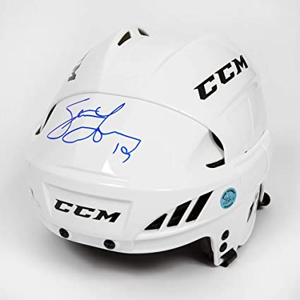 cb1c91fe2c6 Image Unavailable. Image not available for. Color  Steve Yzerman  Autographed White CCM Detroit Red Wings Hockey Helmet