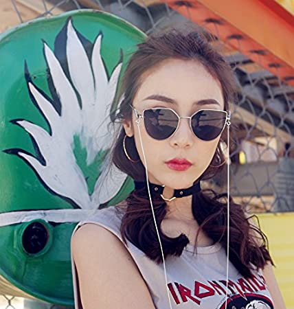 Lunettes de Soleil Polarisées Wayfarer Angel wings Eyeware Princess agents same style for WANGDERLAND 2017AW sunglasses-Silver frame Black lenses 3Lx8ch