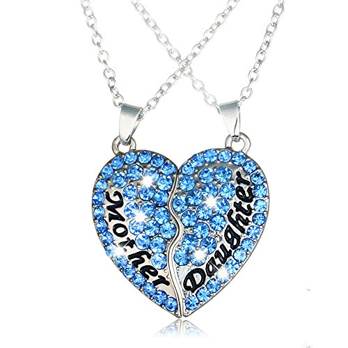 Boosic Crystal Daughter Necklaces Colorful