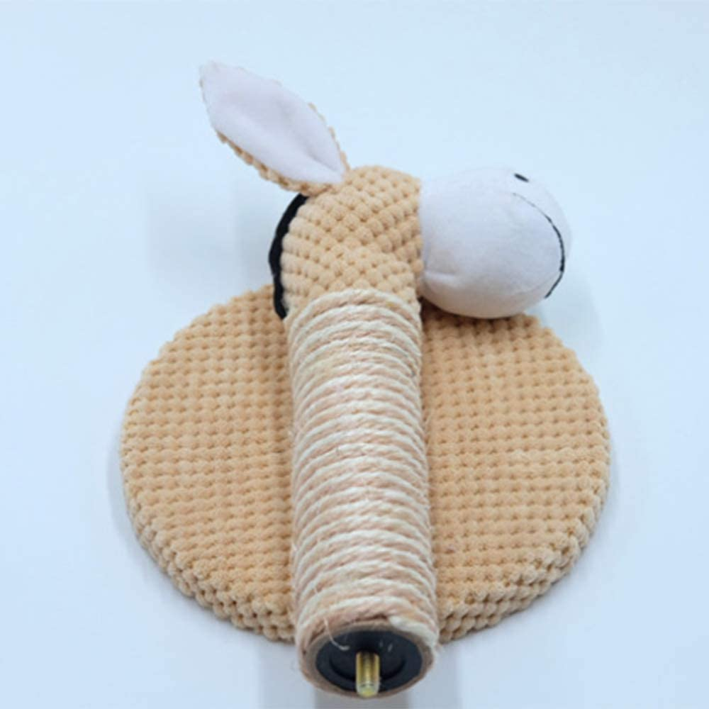 Trooki Animal Shape Cat Sisal Rope Climbing Frame DIY Cats Scratching Post Toys Detachable Cat Tree for Cats Kitten Grinding Claw Elephant