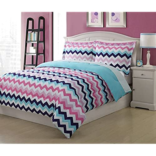 comforter shop bedding on bed rainbow multi deal set chevron royale twin home big