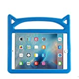 New iPad 9.7 2018/2017 Case for Kids, ThreeJ Lightweight Shockproof Protective Case Double Stand for Apple iPad 9.7 inch 2018/2017 (iPad-9.7, Blue)